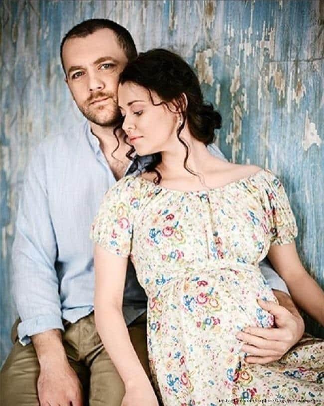 Денис Шведов и его жена