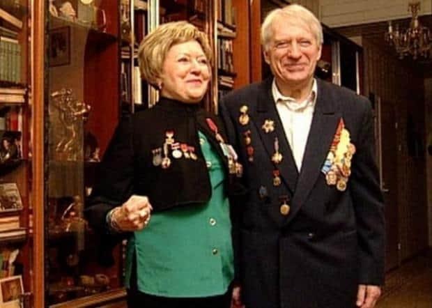 Людмила Касаткина с мужем Сергеем Колосовым