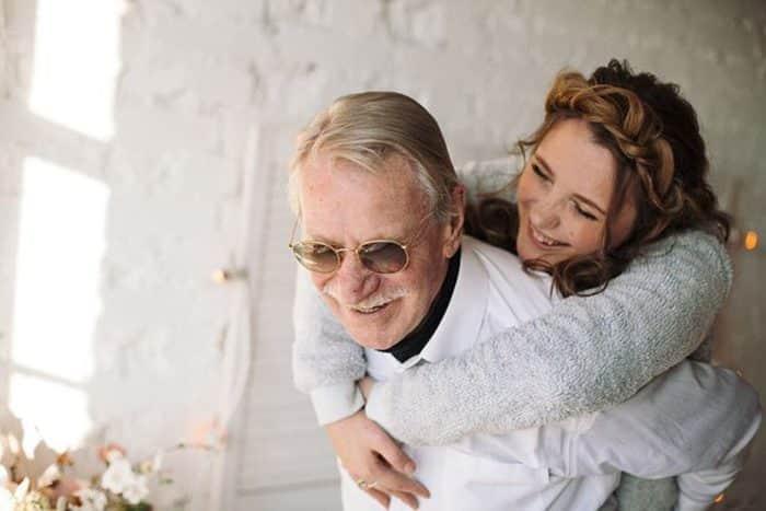 Иван Краско и его молодая жена