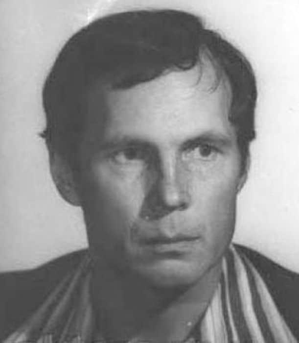 Владимир Гостюхин в молодости
