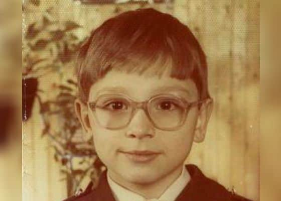Антон Хабаров - детство