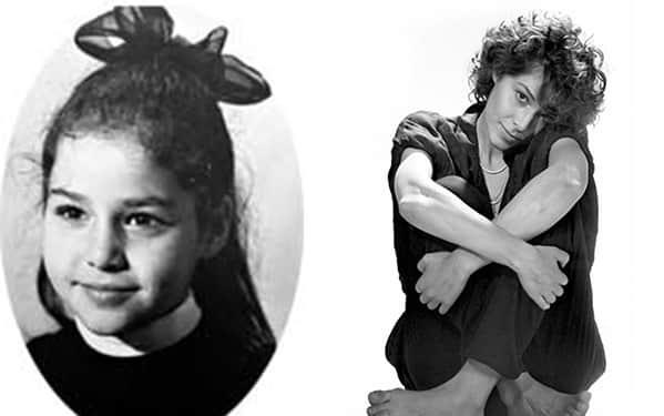 Наталья Негода в детсве и юности