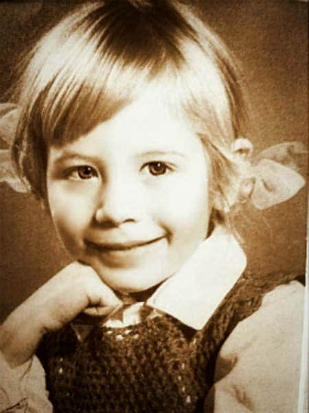Дарья Юргенс в детстве