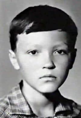 Леонид Быков в детстве