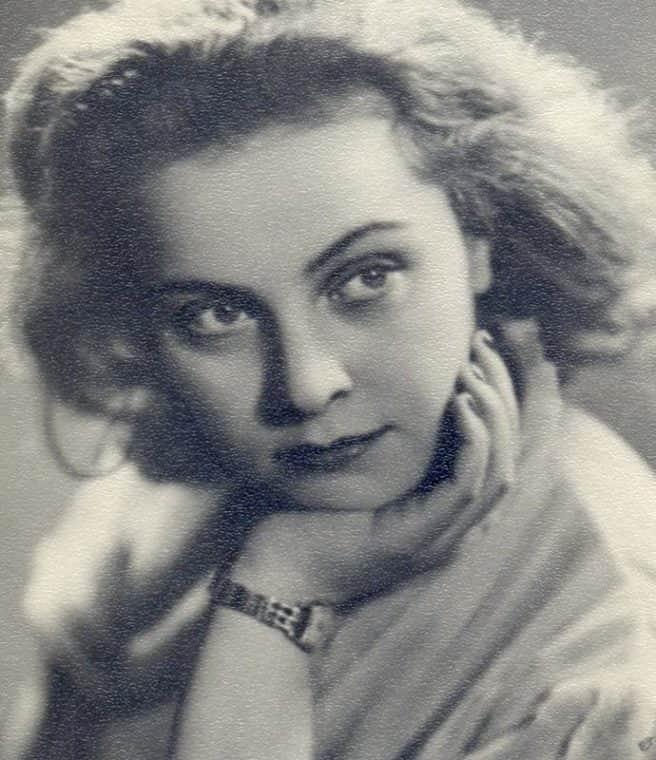 Татьяна Пилецкая в молодости