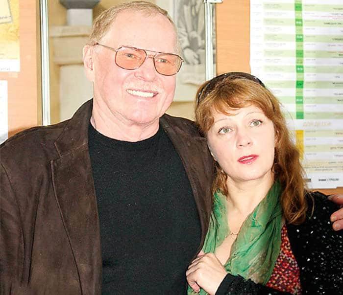 Владимир Гостюхин с женой