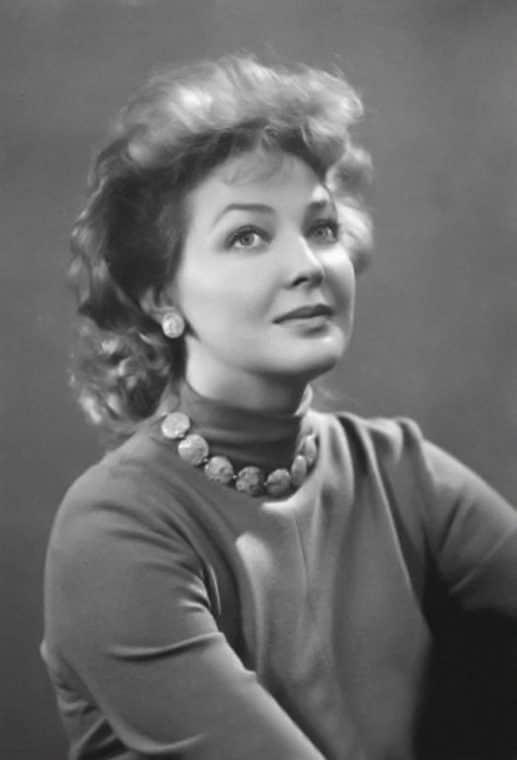 Ирина Скобцева в молодости