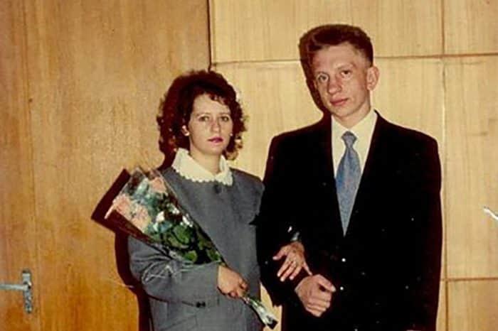 Фото: Алексей Фомкин с женой