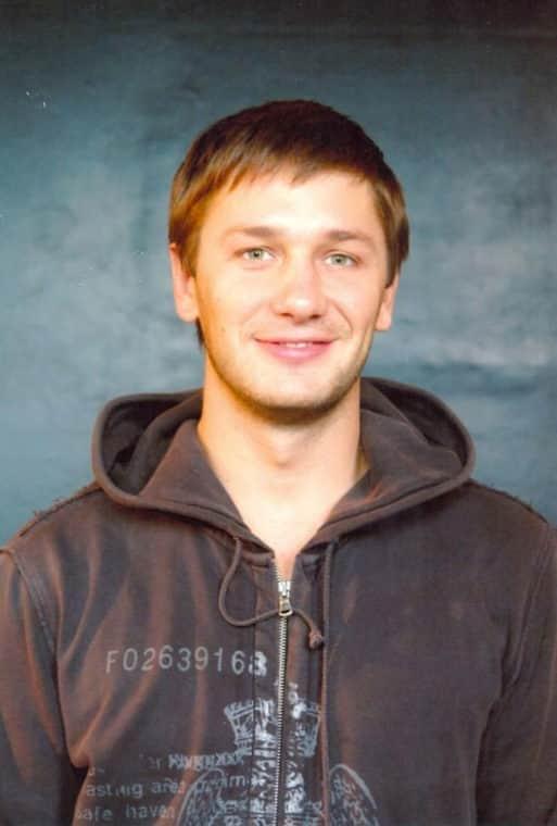 Александр Константинов в молодости
