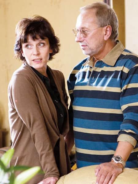 Елена Сафонова с мужем