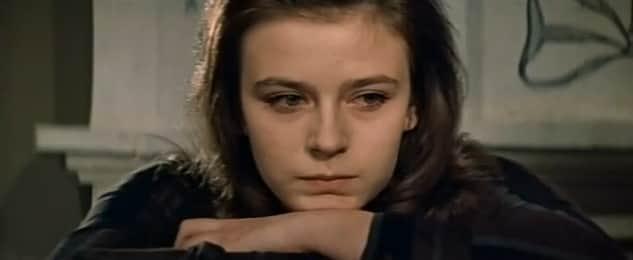 Елена Сафонова в юности