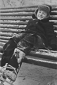 Александр Михайлов в детстве