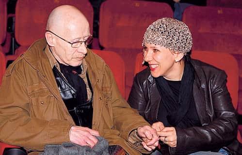 Виктор Проскурин с женой