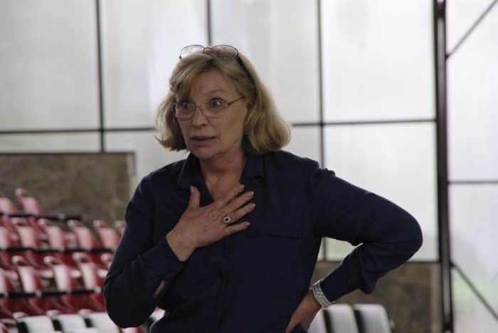 Ольга Остроумова в театре