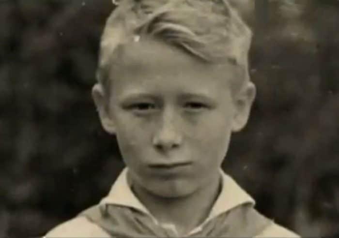 Виктор Проскурин в детстве