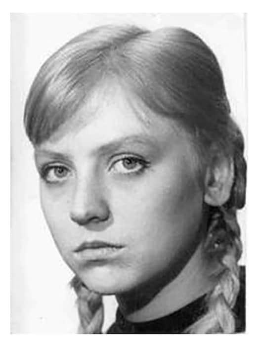 Светлана Крючкова в детстве
