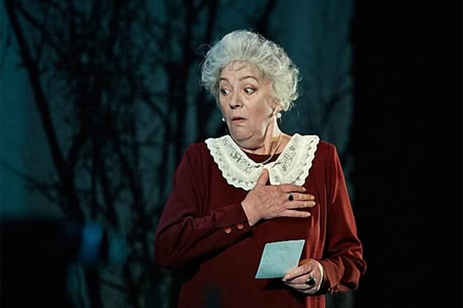 Фаина Раневская в театре