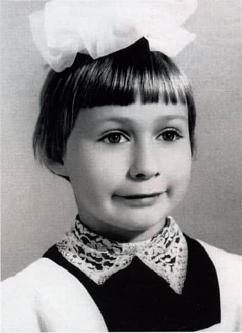 Мария Аронова в детстве