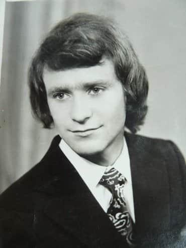 Александр Михайлов в молодости