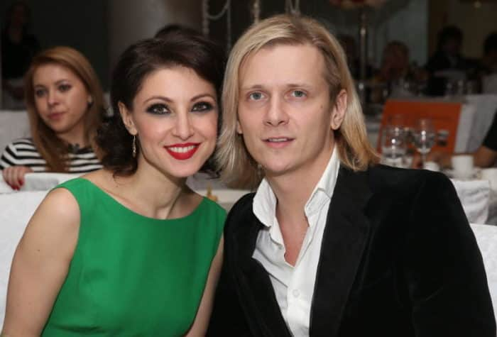 Глеб Матвейчук с женой