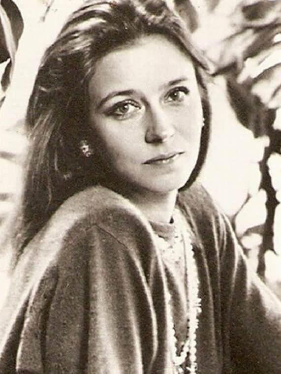 Молодая Елена Сафонова
