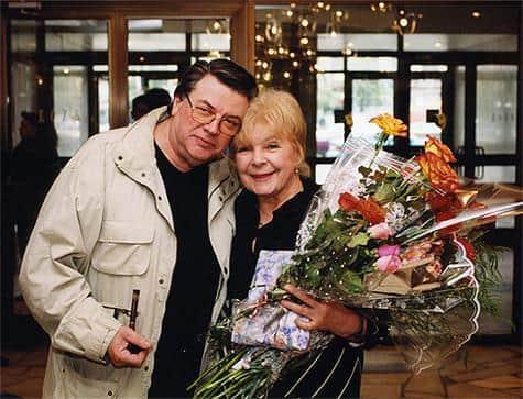 Ольга Аросева с мужем