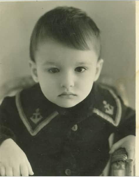 Евгений Дятлов в детсвте
