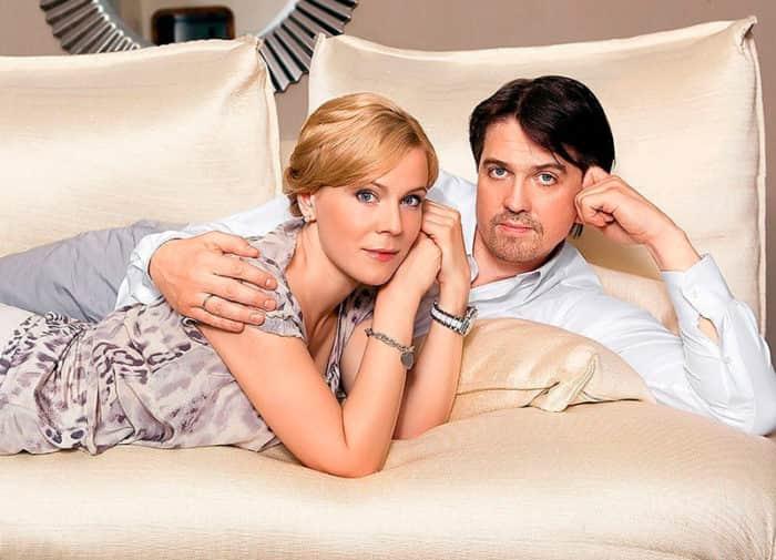 Денис Матросов с женой