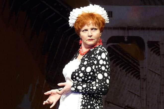 Ольга Науменко в театре