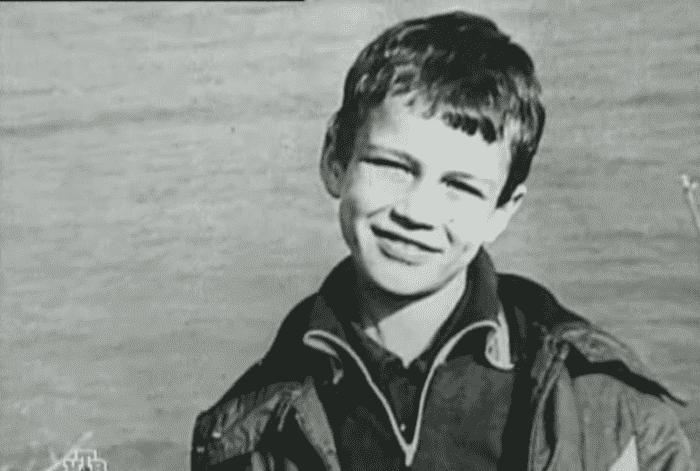 Андрей Чернышов в детстве