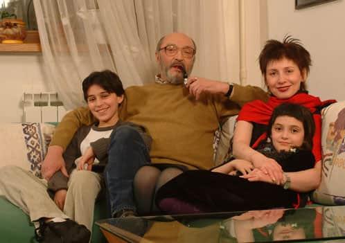 Михаил Козаков с семьей