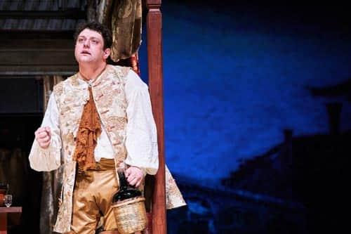 Михаил Полицеймако в театре