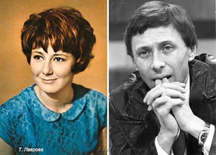 Олег Даль и его жена