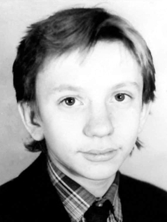 Алексей Фомкин в детстве