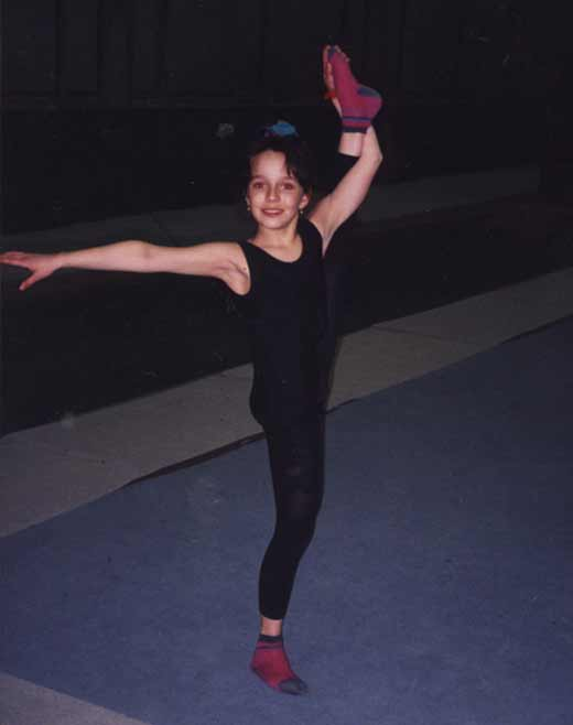 Валерия Ланская в детстве