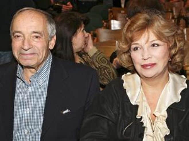 Ольга Остроумова с мужем