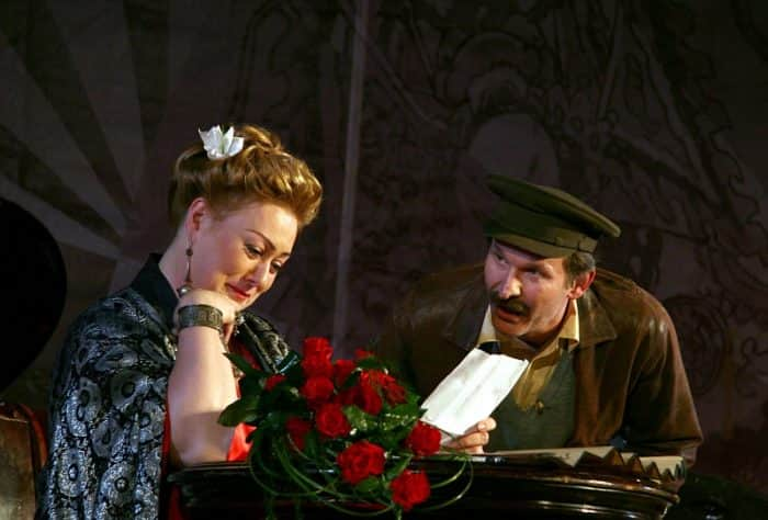 Мария Аронова в театре