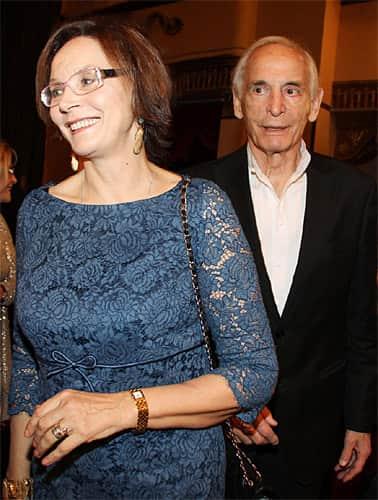 Ирина Купченко с мужем