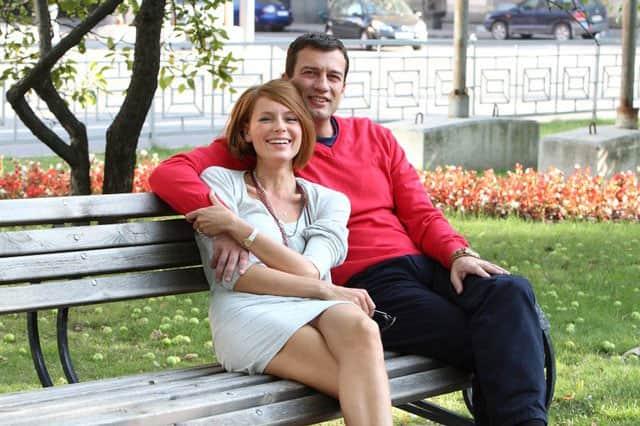 Андрей Чернышов с женой