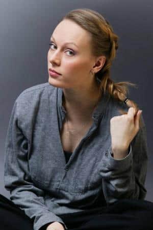 Ольга Ломоносова в юности