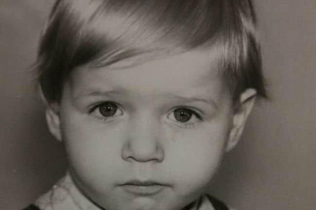 Владимир Яглыч в детстве