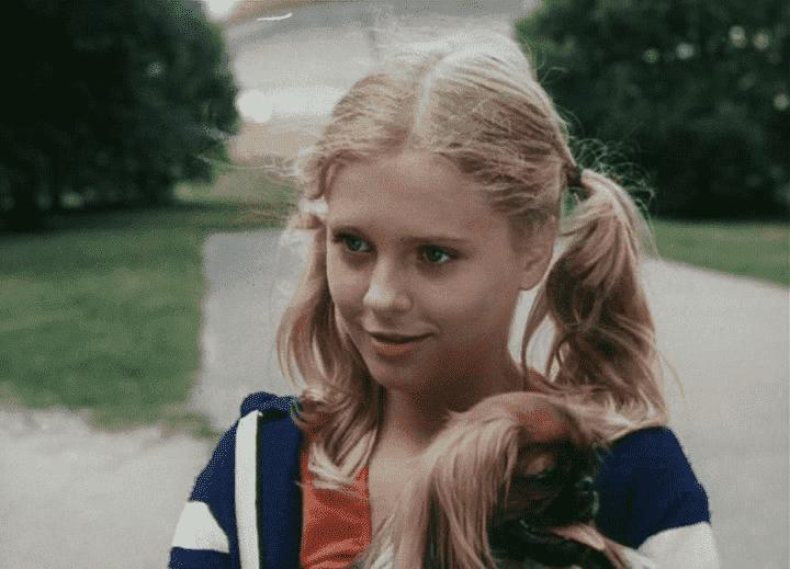 Оксана Фандера в детстве