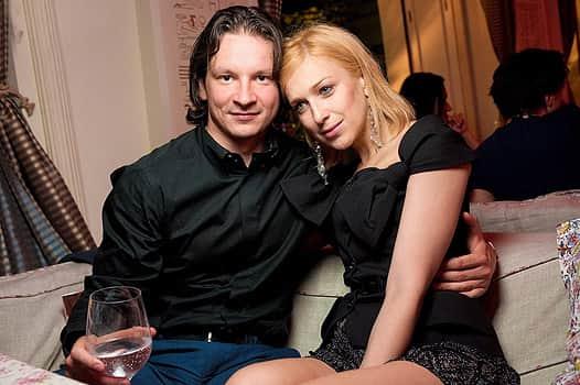 Ирина Гринева с мужем
