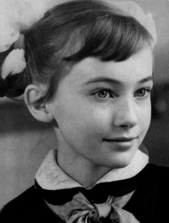 Лариса Гузеева в детстве