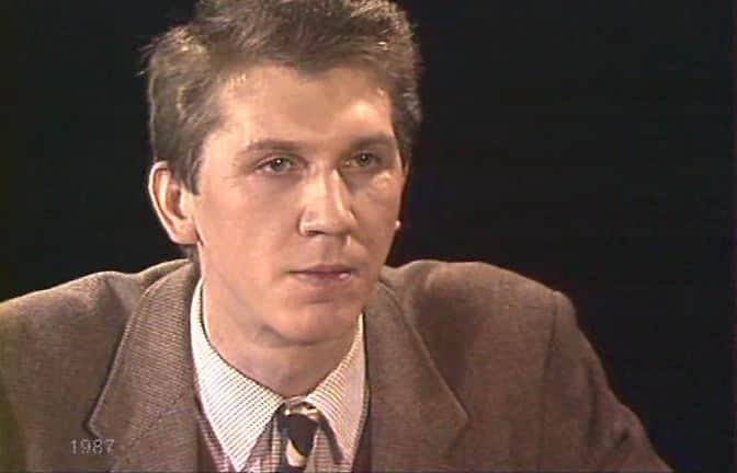 Сергей Баталов в молодости