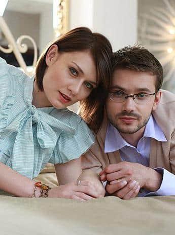 Мария Машкова с мужем