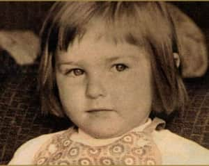 Екатерина Семенова в детстве