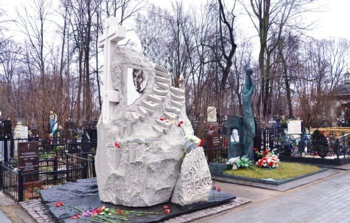 Могила Александра Абдулова