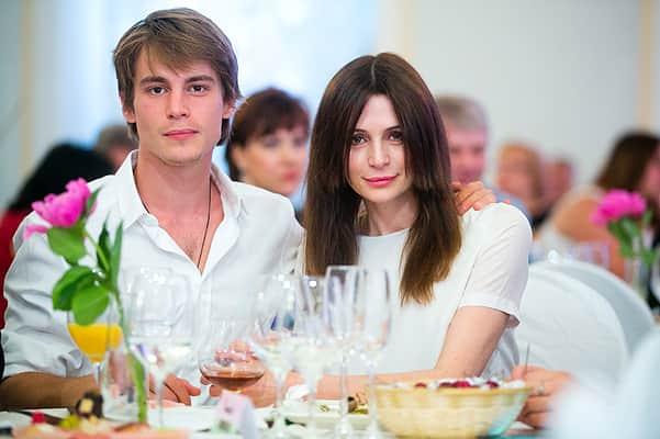 Оксана Фандера с сыном