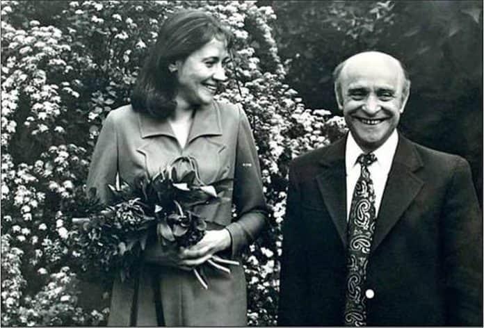 Ролан Быков с женой